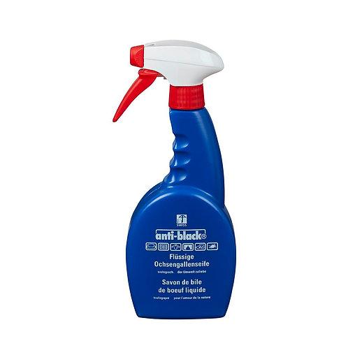 Anti-Black Flüssiger Fleckenentferner 500 ml Sprayflasche