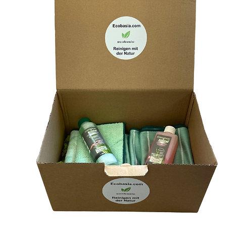 BAMBUS PUTZBOX - Mit 7 ausgesuchten nachhaltigen Bambus Reinigungsprodukten
