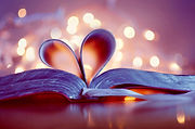 book_bokeh_page_bookmark_heart-Wallpaper