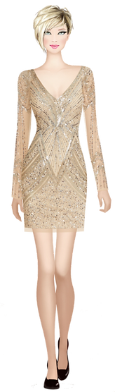 Avatar Gold Dress Clarity of Mind.png