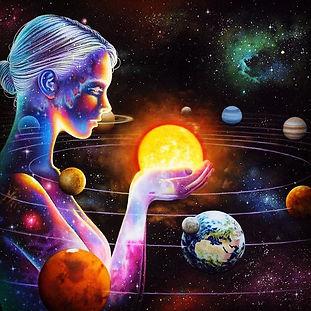 Galaxy Stars Planets Cosmos Consciousnes