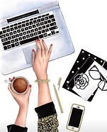 Journaling Banner LifeStyle Writing Comp