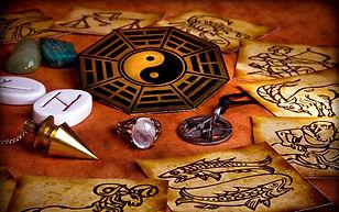 Divination Pendulum Runes Magic Intuitio