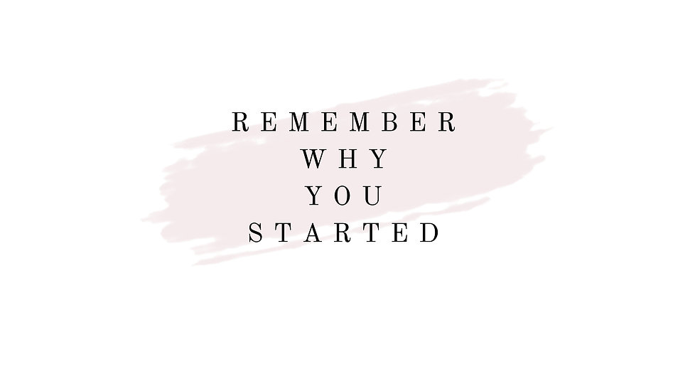 Inspirational-Wallpaper- Remember Why Yo