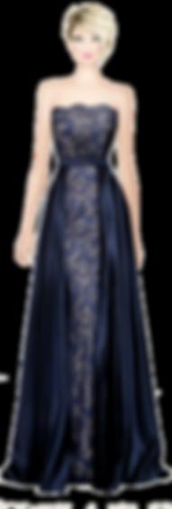 Avatar Elegant BLue Dress.png