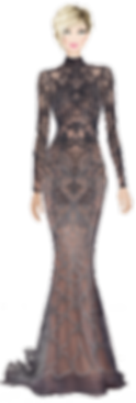 Avatar Elegant Brown Gown.png