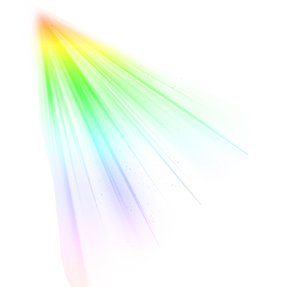 Rainbow Colour Lights Rays.png