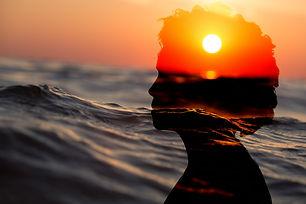 Woman Emotional Water Ocean Wallpaper.jp