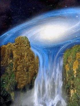 Cosmos Galaxy Hologram Consciousness Sim