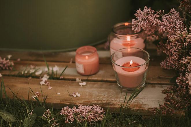 Self Care Candles Aromatherapy Meditatio