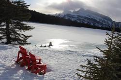 Two Jack Lake Banff National Park Albert