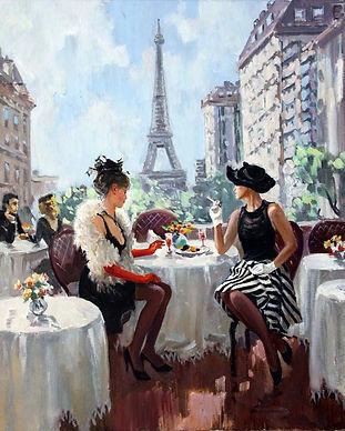 Paris Friends Relationships Coffee Shop