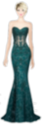 Avatar Elegenat Green Dress.png