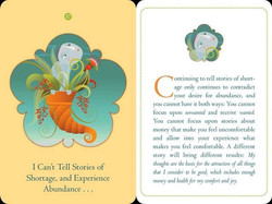Money  and the Law of Attraction Cards A