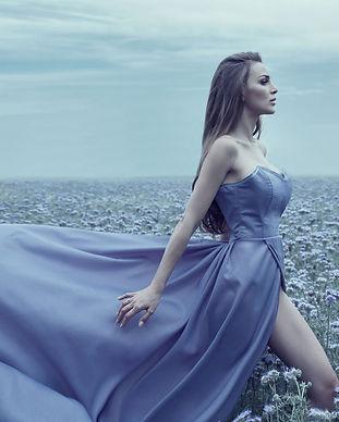 Woman Blue Dress Wallpaper.jpg