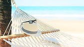 Summer Hat Beach Vacation Lifestyle Wall