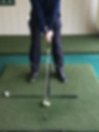 Golf Iron set up