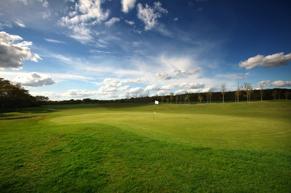 12th green  MId Sussex Golf Club