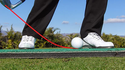 Steeper angle to get the ball out of the rough