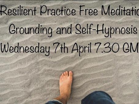 Wellbeing Wednesday Free Meditation Meeting