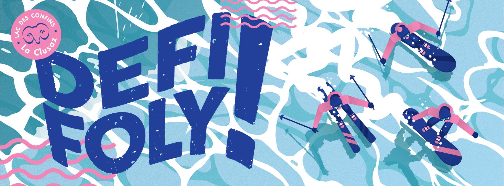 Défi Foly | Waterslide la clusaz | Lac des Confins
