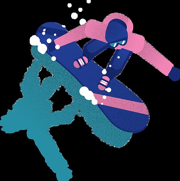 defifoly waterslide laclusaz ski snowboard