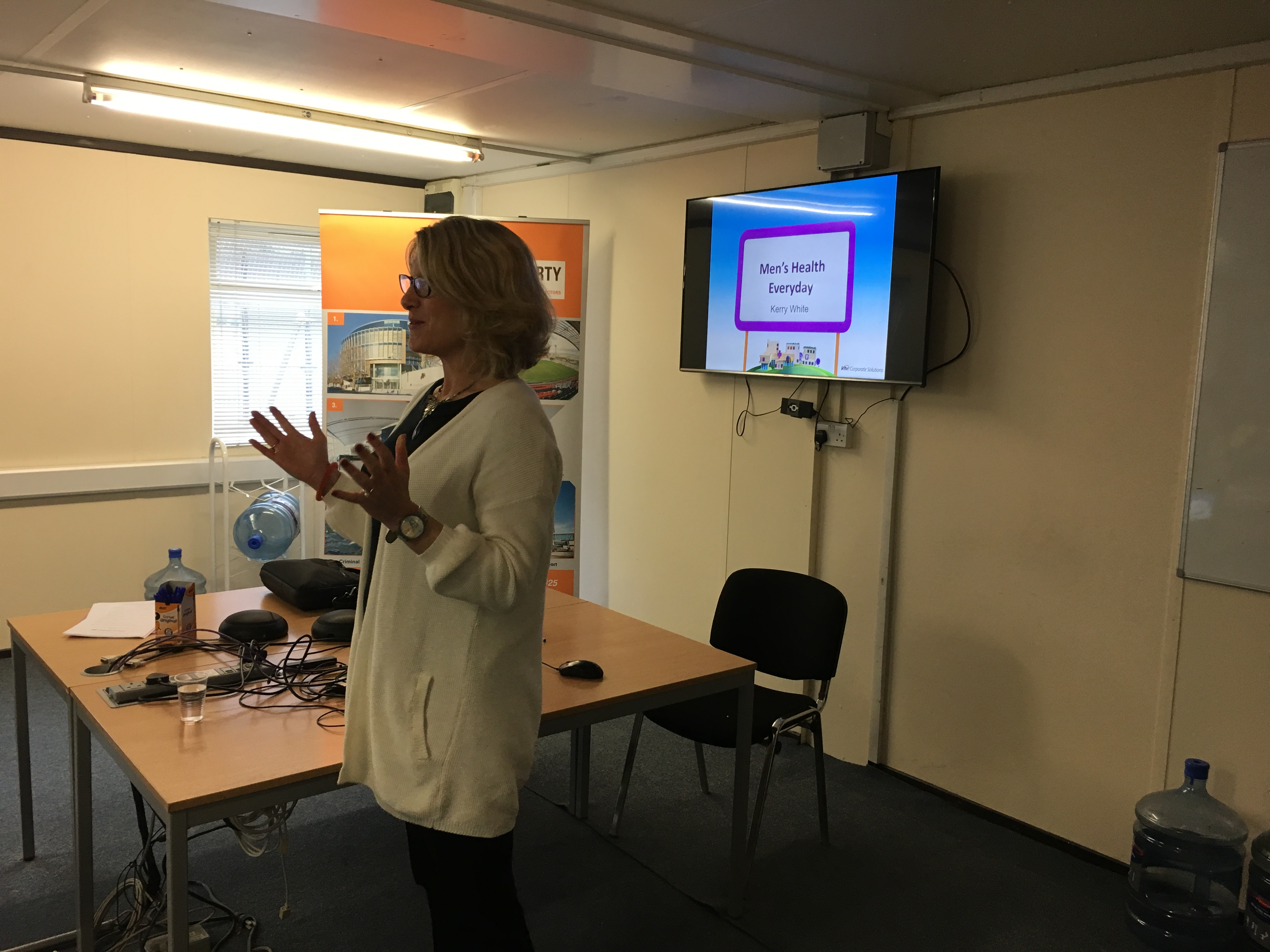 Wellbeing talk, with Kerry White