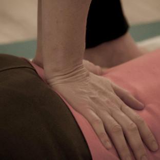 Shiatsu Massage to relieve lower back pain