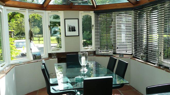 nadya sawney interiors 18c Cottage conservatory after