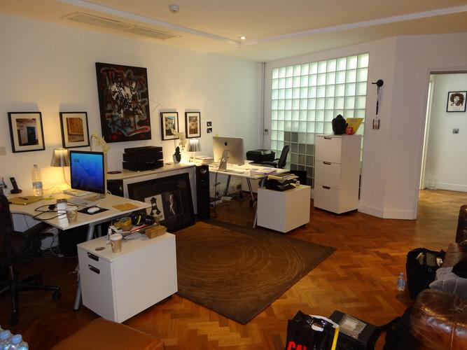 Recording Studio Reception BEFORE