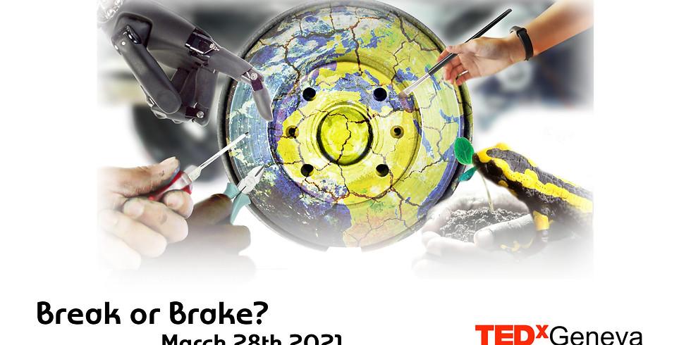 TEDx conference: Break or Brake ?