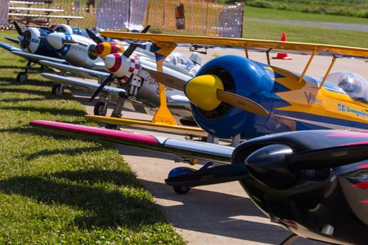 RC Fest flight line