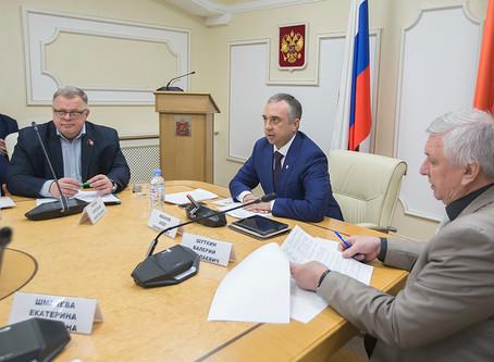 В Московской областной Думе обсудили развитие ТОС