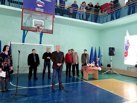 Турнир по волейболу к освобождению городов российского Донбасса прошел в Новошахтинске