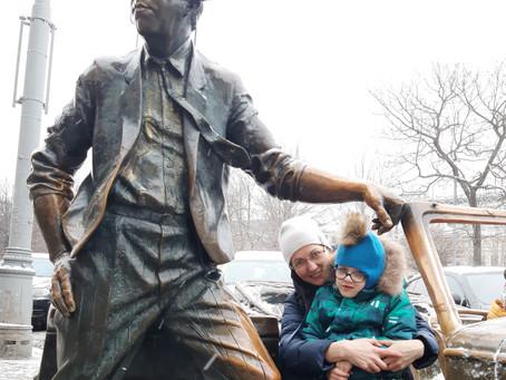 Исполнилось заветное желание Семена из города Пионерский Калининградской области