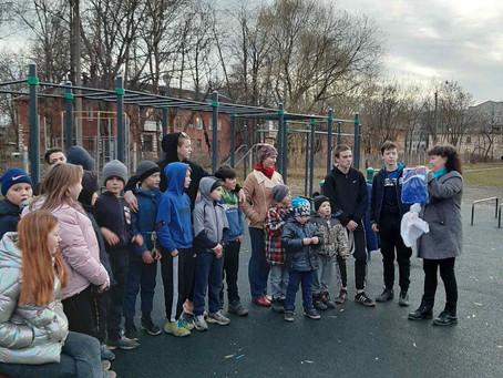 В ТОСе «Дружный» проводятся соревнования по воркауту.