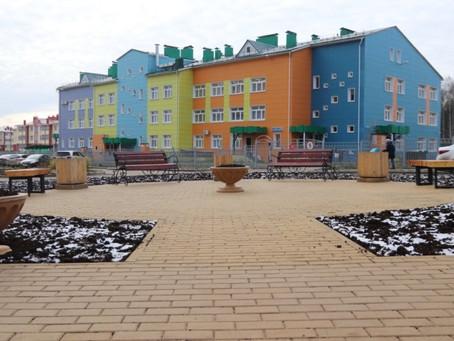 Новое пространство для отдыха местных жителей появилось в ТОС Рождественский.