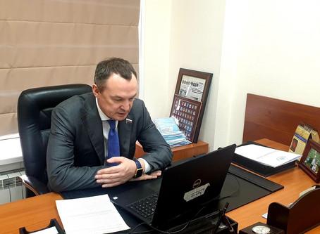 Алексей Бурнашов провел онлайн-совещания с ТОСами Пермского края