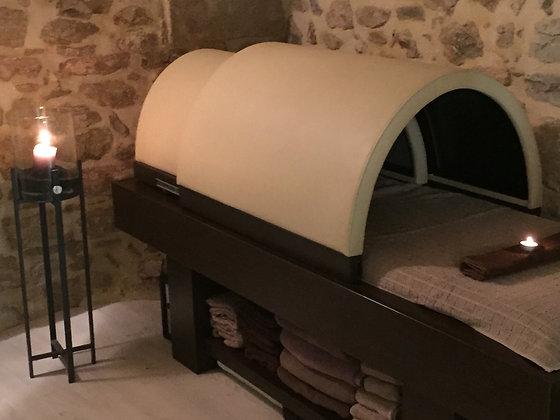 sauna 30 min + massage 20 min