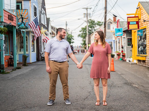 Rockport Engagement Session with Olivia and Nick, July 2020
