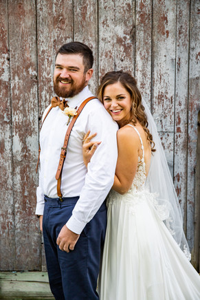 Beauregard Wedding Bride and Groom