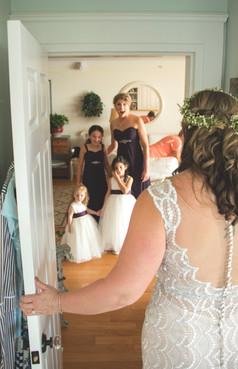 Watts Wedding Bridesmaids First Look