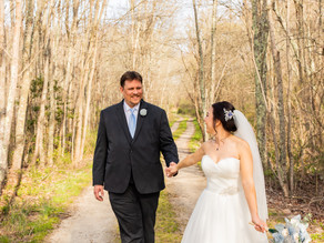Spring Wedding at Bittersweet Farms in Westport with the Jacksons, April 2021