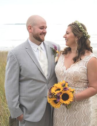 Watts Wedding Bride and Groom
