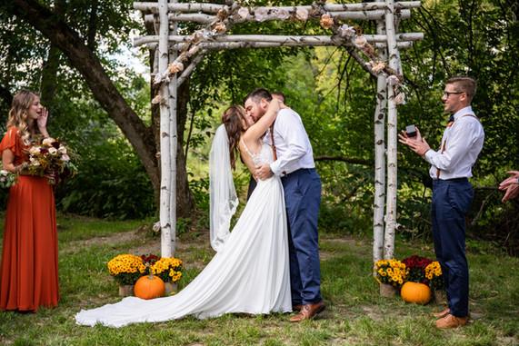 Beauregard Wedding Kiss