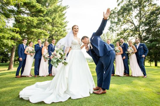Minter Wedding Party