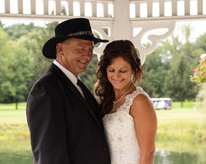 Roy Wedding Bride and Groom