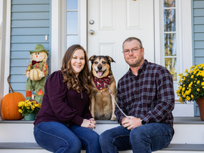 Front Porch Session with Sarah and Sean, October 2020