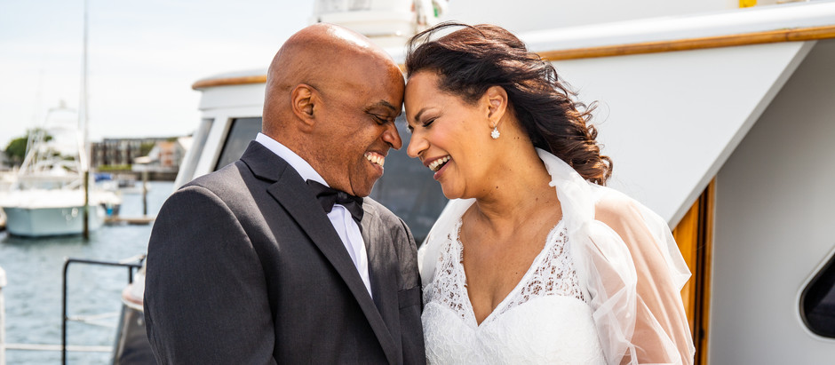 Newport Wedding on the Water with the Smiths, June 2021