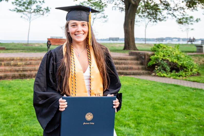 Jessie Graduation Portrait at Lynch Park